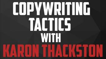 Interview Series: Copywriting Tactics with Karon Thackston course image