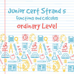 Junior Certificate Strand 5 - Ordinary Level - Functions and Calculus course image