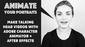 Animate Your Portraits With Adobe Character Animator course image
