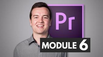 Premiere Pro Masterclass Module 6 - Color Correction course image