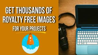 Get Thousands Of Royalty FREE Images For Your Projects course image