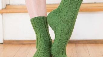 Straightaway Socks by Blue Spruce Knitworks Knit Kit