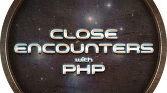 Close Encounters With PHP course image