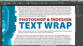 Photoshop to InDesign: Creating Image Masks for Text Wraps course image