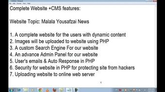 Complete Website and Control Panel with php in Urdu and HIndi course image