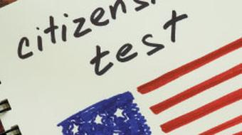 U.S. Citizenship Test Preparation course image