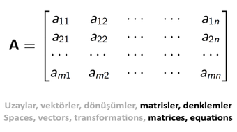 Doğrusal Cebir II: Kare Matrisler, Hesaplama Yöntemleri ve Uygulamalar / Linear Algebra II: Square Matrices, Calculation Methods and Applications course image