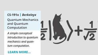 Quantum Mechanics and Quantum Computation course image