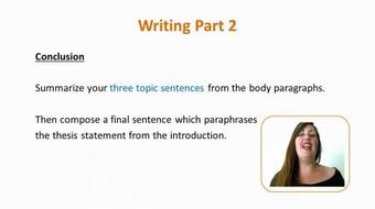 The IELTS: Writing Task 2 course image