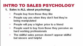 Become a Master of Sales Psychology course image