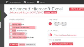 Online Microsoft Advanced Excel Course  course image