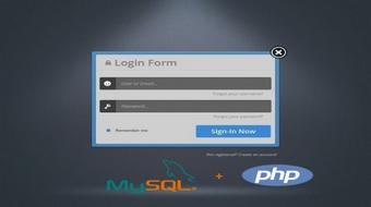 PHP : Complete Registration and Login with Email Verification course image