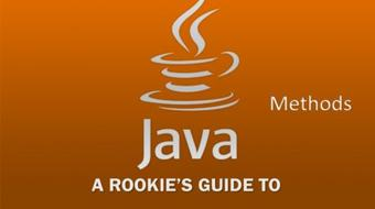 A Rookie's Guide to Java Part 4 - Methods course image