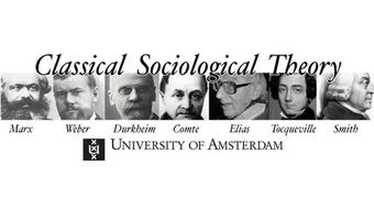 Classical Sociological Theory  course image