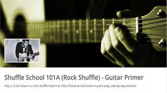 The Art of the Rock Shuffle - A Guitarist's Guide course image