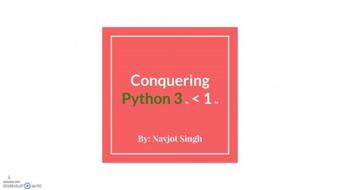 SpeedCourse™: Learn to Code in Under 1 Hour! [Python 3] course image