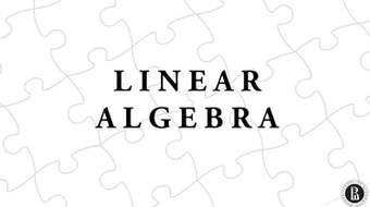 Линейная алгебра (Linear Algebra) course image