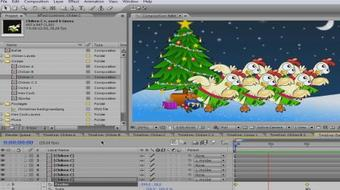 Animation in Adobe After Effects: Chicken Lake Ballet - Second Act course image