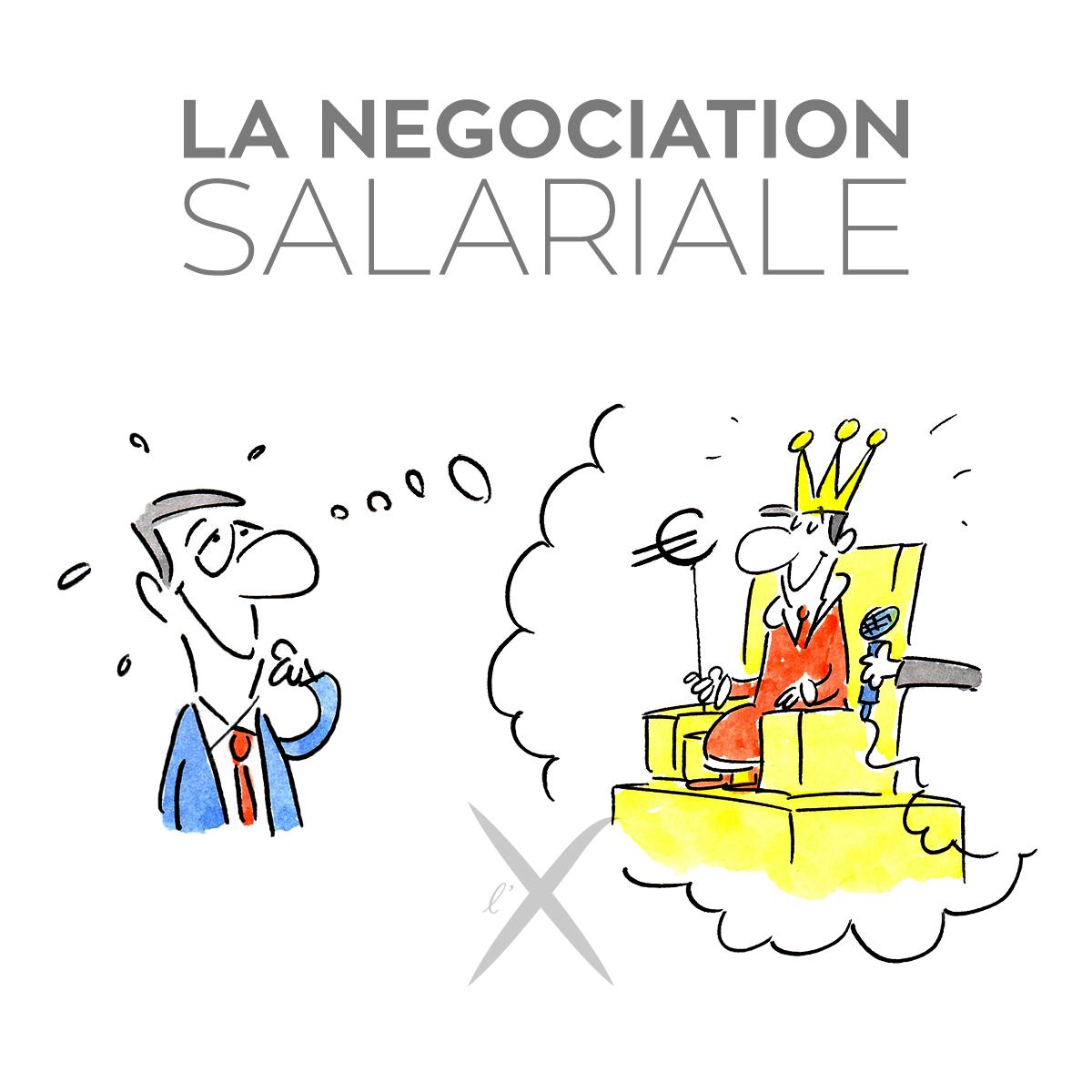 La négociation salariale course image
