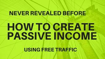 How To Create Passive Income Working Just 30 Minutes a Day course image