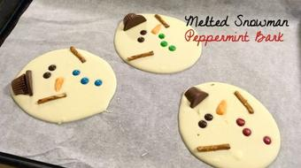 Christmas Treats: Melted Snowman Peppermint Bark course image