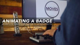 Animating A Badge: Workflow From Illustrator To After Effects course image