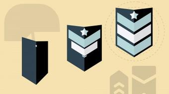 Icon Animation in After Effects #2 - Animate a Military Badge! course image