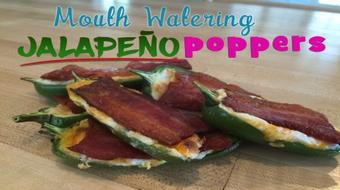 Mouth Watering Jalapeño Poppers course image