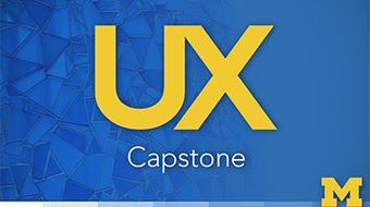 UX Design Capstone course image