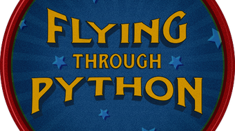 Flying Through Python course image