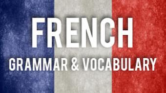 Mastering French Grammar and Vocabulary course image