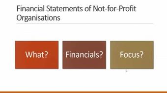 Accounting for Not-for-Profit Organisations course image