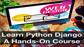 Learn Python Django - A Hands-On Course course image