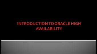 Master Oracle 11g Data Guard course image