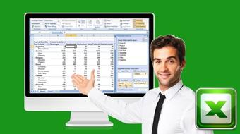 Amazing Reports and Data Analysis with Excel Pivot Tables course image