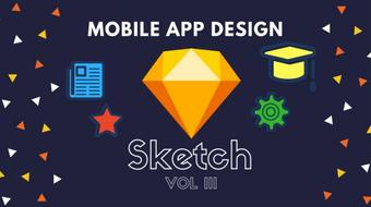 Mobile Design with Sketch: Vol 3 course image
