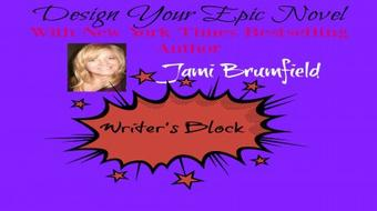 Design Your Epic Novel ~ Overcoming Writer's Block course image