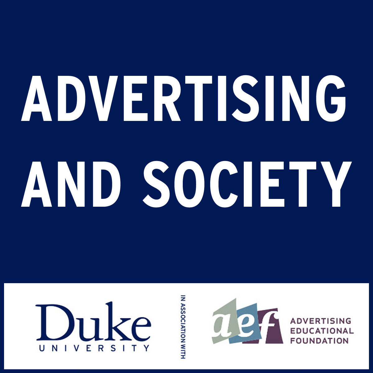 Advertising and Society course image