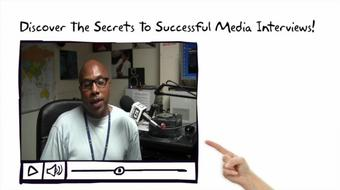 Discover the Secrets to Successful Media Interviews course image