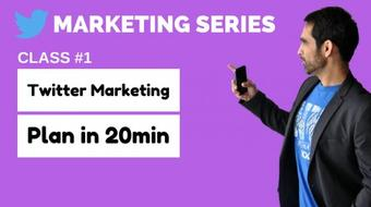 Twitter Marketing Series: Create An Effective Strategy In 20min course image