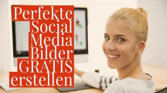 Erstelle PERFEKTE Social Media Bilder GRATIS mit Adobe Spark Post course image