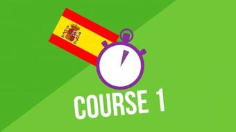 3 Minute Spanish - Course 1 course image