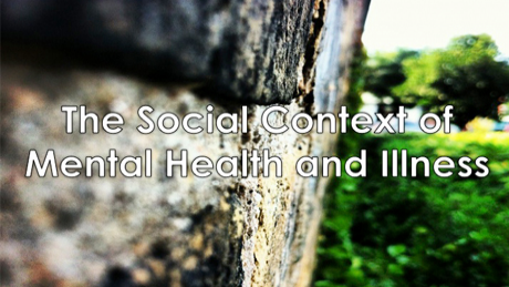 The Social Context of Mental Health and Illness course image