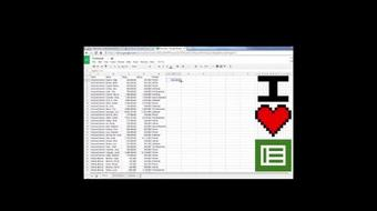 I Heart Google Sheets: Introduction to Useful Skills Employers Look For course image