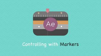 After Effect : Controlling Keyframe using Markers course image