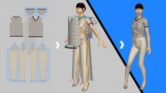Fashion Design: Learn to make a Shirt in 3D using Marvelous Designer course image