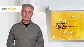 Introduction to Software Development on SAP HANA (Repeat) course image