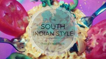 How to Make South Indian Style Cheesy Noodles in Just 5 Minutes - A Different Shade to Noodle course image