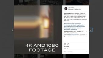 Editing for Instagram - FCPX course image