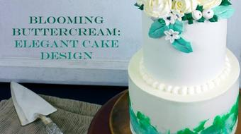 Blooming Buttercream: Elegant Cake Design course image